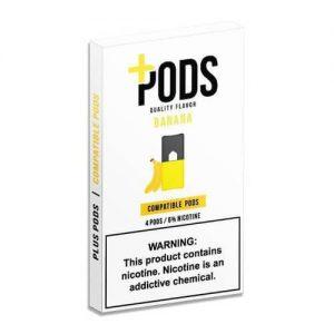 Plus Pods - Compatible Flavor Pods - Banana - 1ml / 60mg