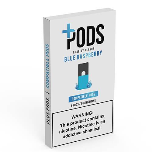 Plus Pods - Compatible Flavor Pods - Blue Raspberry - 1ml / 60mg