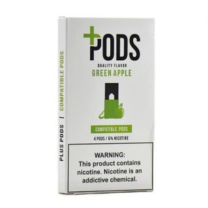 Plus Pods - Compatible Flavor Pods - Green Apple - 1ml / 60mg
