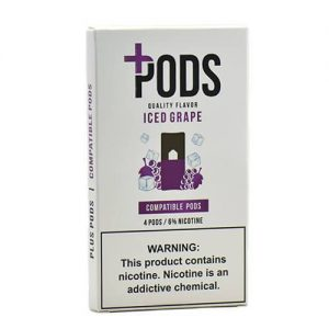 Plus Pods - Compatible Flavor Pods - Iced Grape - 1ml / 60mg