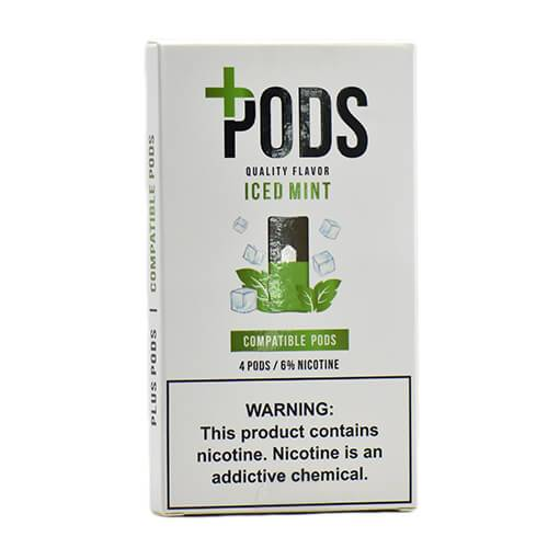 Plus Pods - Compatible Flavor Pods - Iced Mint - 1ml / 60mg