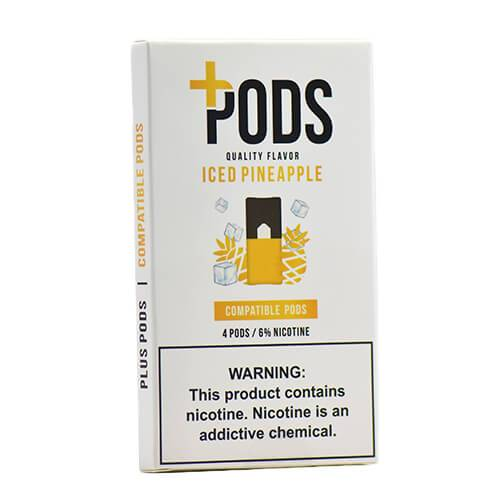 Plus Pods - Compatible Flavor Pods - Iced Pineapple - 1ml / 60mg