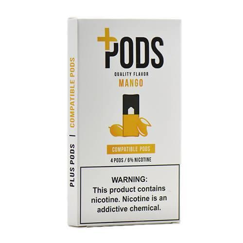 Plus Pods - Compatible Flavor Pods - Mango - 1ml / 60mg