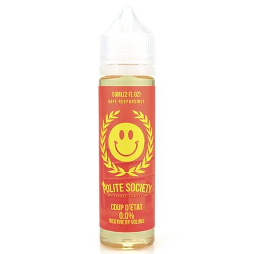 Polite Society E-Liquid - Coup d???etat - 60ml / 12mg