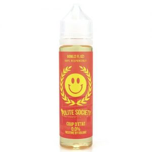 Polite Society E-Liquid - Coup d???etat - 60ml / 0mg