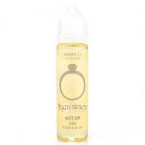 Polite Society E-Liquid - White Girl - 60ml / 0mg