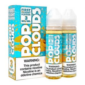 Pop Clouds E-Liquid - First Flight Candy - 2x60ml / 3mg