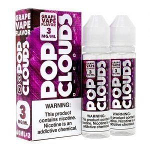 Pop Clouds E-Liquid - Grape Vape - 2x60ml / 3mg