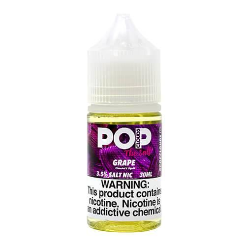 Pop Clouds E-Liquid The Salt - Grape Candy Salt - 30ml / 50mg