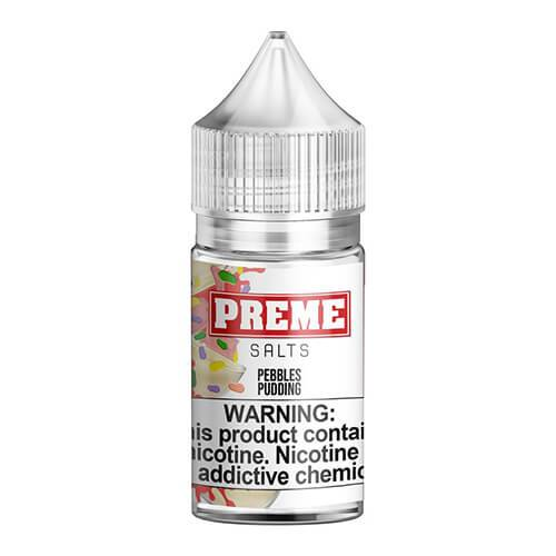 Preme eLiquids Salt Nic - Pebbles Pudding - 30ml / 45mg