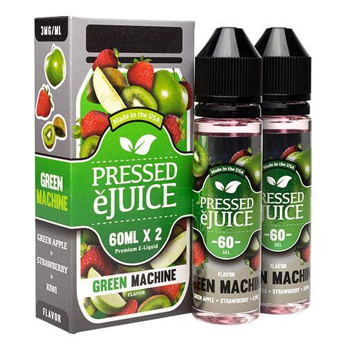Pressed E-Juice - Green Machine - 2x60ml / 3mg