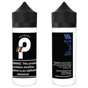 Primary E-Liquids - Blue - 120ml / 3mg