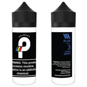Primary E-Liquids - Blue - 120ml / 6mg