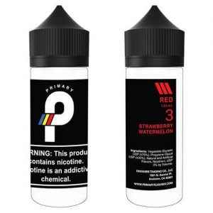 Primary E-Liquids - Red - 120ml / 0mg