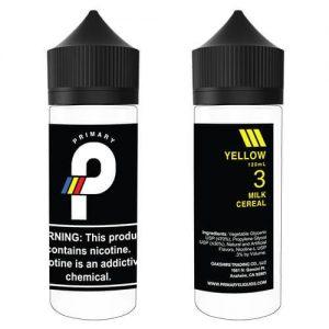 Primary E-Liquids - Yellow - 120ml / 3mg