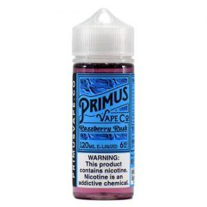 Primus Vape Co - Razzberry Rush - 120ml / 6mg
