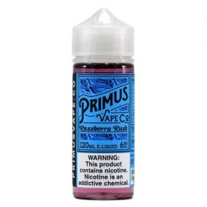 Primus Vape Co - Razzberry Rush - 120ml / 0mg