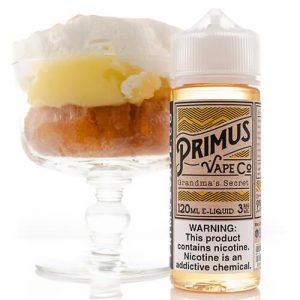 Primus Vape Co - Grandma???s Secret - 120ml / 0mg