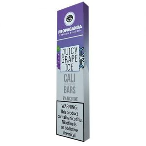 Propaganda - Disposable Vape Device - Juicy Grape Ice - 1.3ml / 50mg