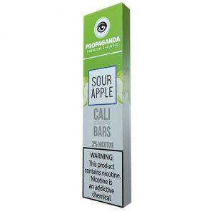 Propaganda - Disposable Vape Device - Sour Apple - 1.3ml / 50mg
