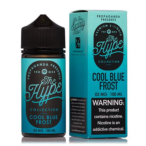 Propaganda E-Liquid The Hype Collection - Cool Blue Frost - 100ml / 12mg