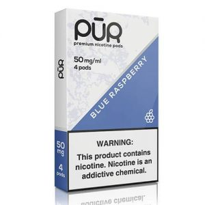 PuR - Compatible Nicotine Pods - Blue Raspberry (4 Pack) - 4 Pack / 50mg