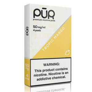PuR - Compatible Nicotine Pods - Tropic Mango (4 Pack) - 4 Pack / 50mg