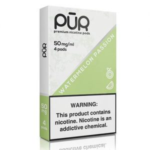 PuR - Compatible Nicotine Pods - Watermelon Passion (4 Pack) - 4 Pack / 50mg