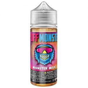 Puff Monster eJuice - Monster Milk - 120ml / 0mg