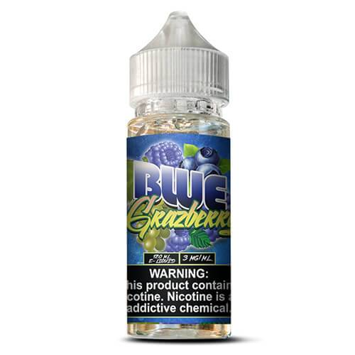 Quenchers by Vango Vapes - Blue Grazberry - 120ml / 6mg