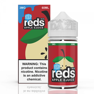 Reds Apple EJuice - Reds Apple ICED - 60ml / 3mg