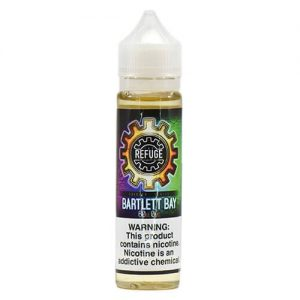 The Refuge Handcrafted E-Liquid - Bartlett Bay - 120ml / 1mg