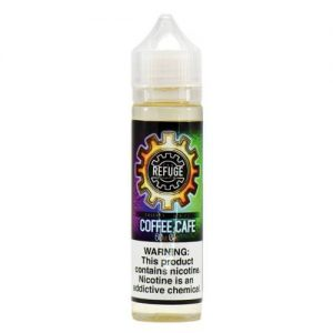 The Refuge Handcrafted E-Liquid - Coffee Cafe - 120ml / 0mg