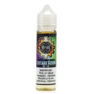 The Refuge Handcrafted E-Liquid - Custard Fusion - 120ml / 1mg