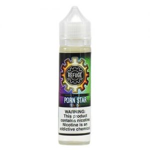 The Refuge Handcrafted E-Liquid - Porn Star - 60ml / 0mg
