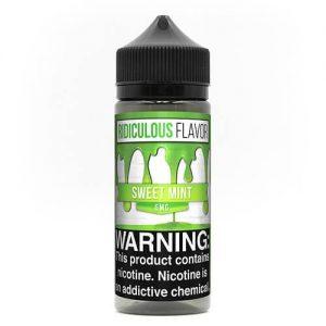 Ridiculous Flavor Vape Juice - Sweet Mint - 120ml / 0mg