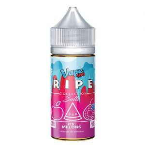 Ripe Collection on Ice by Vape 100 Nic Salts - Fiji Melons on Ice - 30ml / 50mg