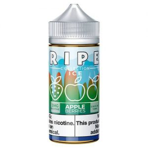 Ripe Collection on Ice by Vape 100 eJuice - Apple Berries On Ice - 100ml / 3mg