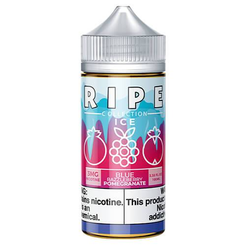Ripe Collection on Ice by Vape 100 eJuice - Blue Razzleberry Pomegranate On Ice - 100ml / 3mg