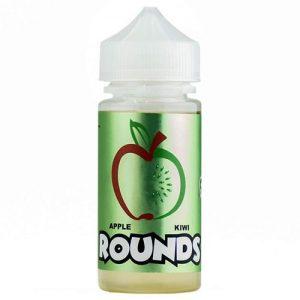 Rounds E-Liquid - Apple Kiwi Rounds - 100ml - 100ml / 0mg