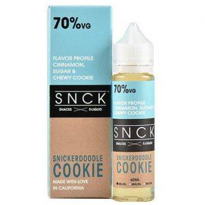 SNCK Snacks E-Liquid - Snickerdoodle Cookie - 60ml / 3mg
