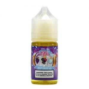 Salt Frenzy by Liquid EFX - Grape Berry Ice - 30ml / 50mg
