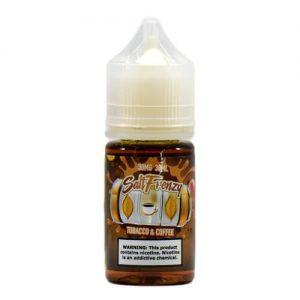 Salt Frenzy by Liquid EFX - Coffee & Tobacco - 30ml / 30mg