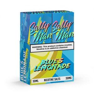Salty Man Vapor eJuice - Blue's Lemonade - 2x30ml / 50mg