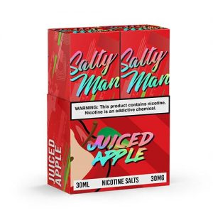 Salty Man Vapor eJuice - Juiced Apple - 2x30ml / 50mg