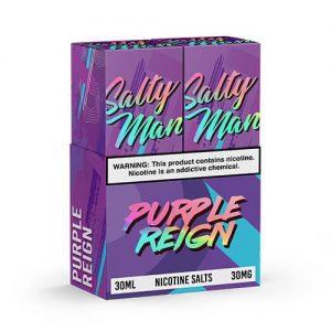 Salty Man Vapor eJuice - Purple Reign - 2x30ml / 30mg