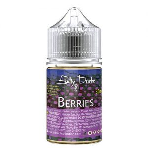 Salty Podz eJuice - Berries - 30ml / 50mg