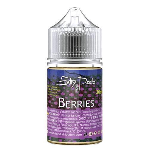 Salty Podz eJuice - Berries - 30ml / 35mg