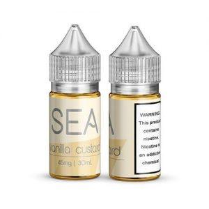 Sea Salt Nicotine eJuice - Vanilla Custard - 30ml / 25mg