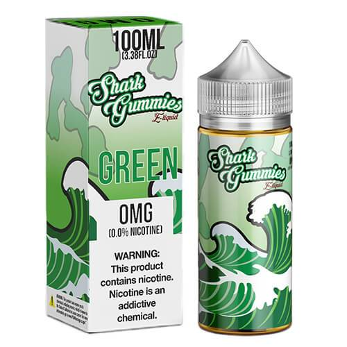 Shark Gummies E-Liquid - Green - 100ml / 6mg